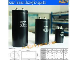 85°C 20000 Hours 400V 6800uF Capacitor Screw Bolt Terminal Aluminium Electrolytic Capacitor RoHS