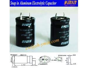 High Power Capacitor Snap in Electrolytic Capacitor for Electricity Car Charging Piles E-car Charger