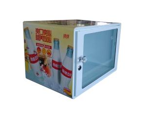 display freezer with heating and cooling function