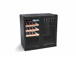 wine display freezer