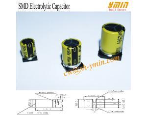 105°C 7000 Hours 160V 100uF SMD Aluminium Electrolytic Capacitor 6.3x12mm -20% - +20% RoHS