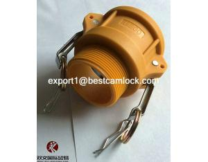 Nylon Camlock Coupling with Male Bsp thread type B