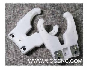 HSK63F Tool Holder Forks CNC Tool Changer Grippers for ATC CNC Router