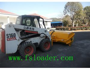 skid steer attachment road sweeeper,bobcat attachment sweeper