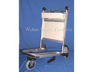 aluminum airport trolley