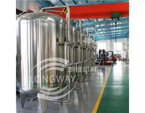 Zhangjiagang hot sell factory machinery demineralized water treatment plant