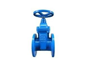 ductile iron flange type F4 gate valve for water pump