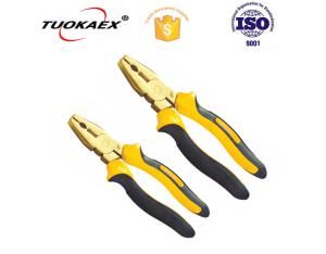Non sparking cutting plier safety tools plier die forged cutting plier