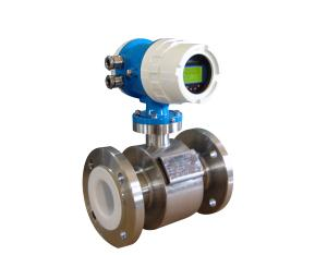 Intelligent/Electromagnetic flowmeter/Integration/With liquid crystal display/Battery powered/