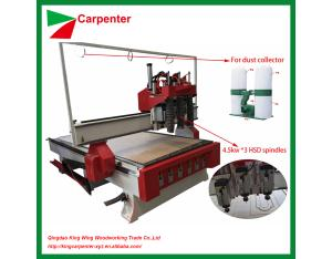 1325 CNC Wood Router Machine for wooden door cabinets KC1325A-3S