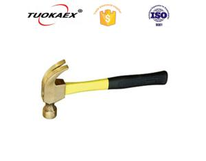 Claw hammer non sparking claw hammer explosion-proof tools manufacturer