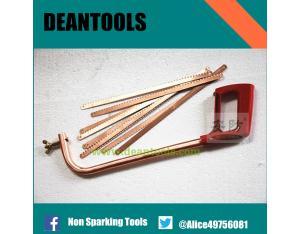 hacksaw frame ,500*300*110mm, hacksaw blade copper alloy tools