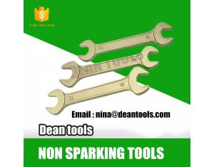 non sparking explosion proof double open end wrench 5.5*7-65*70mm