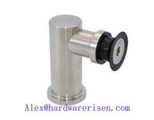 stainless steel glass fixing clamps RSPS003, satin and mirror