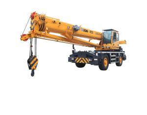 Rough-terrain Crane RT25(Jib stowed under boom)
