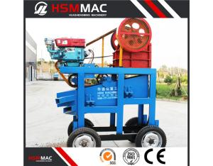 HSM hot sell jaw crusher Production for supply