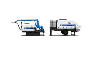 HPS08+HBS30 Shotcrete Machine Set
