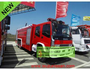 ISUZU CXA fire fighting truck fire engine foam tanker fire truck 6000L