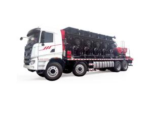 Distributed Power Hydraulic Transmission Fracturing Truck Model-2500 (4-shot)