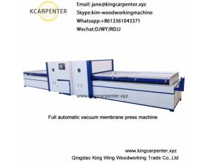 Vacuum Membrane Press Machine for PVC door skin