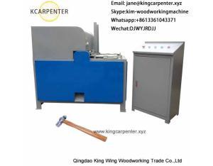 wooden hammer handle making machine