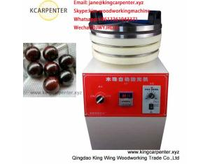 Wooden beads sanding polishing machine