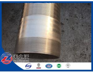 304L stainless steel V Wire shape Johnson Screen