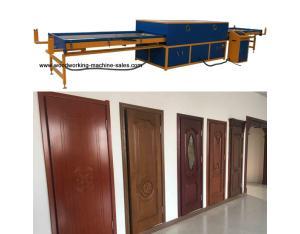 Cabinet PVC vacuum membrane press machine