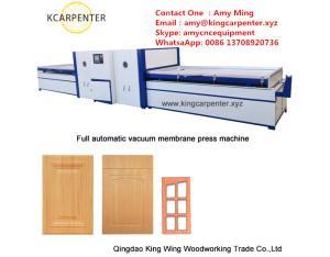 vacuum membrane press machine KC2550DA PVC Membrane vacuum press machine/Membrane Press Machine Manu