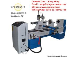 KC1530-S Wood cnc Lathe Machine for Woodworking