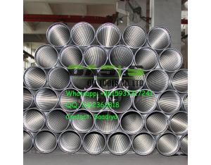 factory directly supplies stainless steel slot tube/ wedge wire filter/ Johnson slot screen