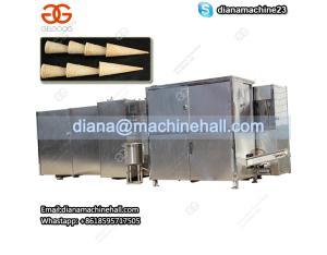 Fully Automatic Ice Cream Cone Production Line|Sugar Cone Making Machine