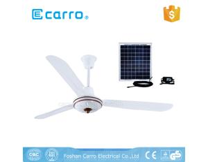 Bangladesh solar 56 inch 3 Blades 320 RPM Metal Rechargeable 12v Dc Ceiling Fan