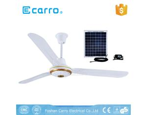 Carro new model solar powered capacitor for ceiling fan