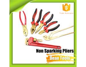 Non Magnetic pliers Anti Spark , Spark Free Copper Combination Lineman's Plier