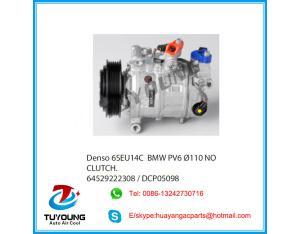 6SEU14C auto ac compressor for BMW 6PK 110MM 64529222308  DCP05098