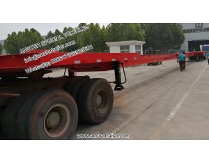 20 30 40 50 m Hydraulic extendable Wind Turbine Blade flatbed Trailer