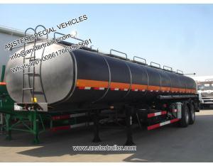 40 50 60 70 m3 Cbm Fuel Petrol Diesel Oil Tanker Trailer