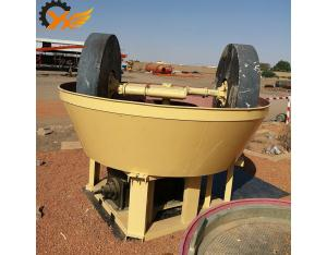 Persistance working sharp design china 1200 wet pan mill for gold