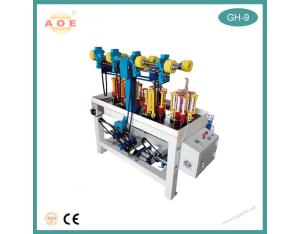 The latest launch 9 Spindle High Speed Lace Braiding Machine