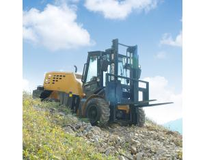 Welift 3.5t 4WD Rough Terrain Forklift Manufactory