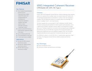 finisar CPRV1220A/RX-PMQPSK/Coherent Receiver/ U2T CPRV1220A