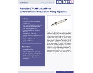 OCLARO 40G modulator /AM-40/40G