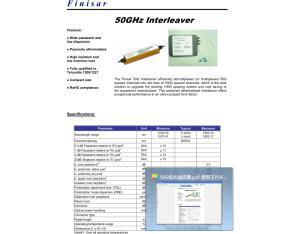 /50G Interleaver