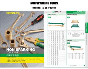 non sparking tools catalog , box end wrench , adjustable spanner