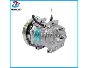 7H15 6008 Universal air conditioning compressor LEIHBERR 24V 119mm 8PV R134a VERT O-RING EAR