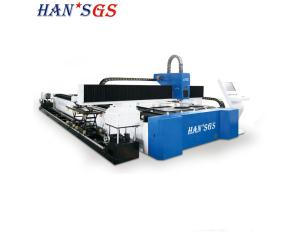 HANS GS CNC Fiber Laser Metal Sheet / Tube Laser Cutting Machine