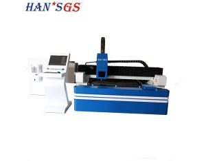 1500w 2000w GS-LFD3015 laser cutting machine with small pipe cutting device
