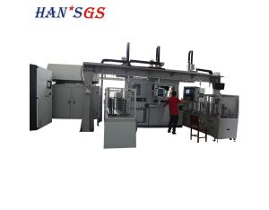 Automatic high-power gear laser welding machine used in automotive gearbox gear