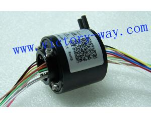 Slip Ring with 25.4mm Through-Bores,ID12.5mm,OD55mm for Packaging Machine
